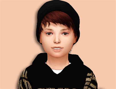 sims 4 child hair cc lana cc finds stealthic psycho kids version ts4