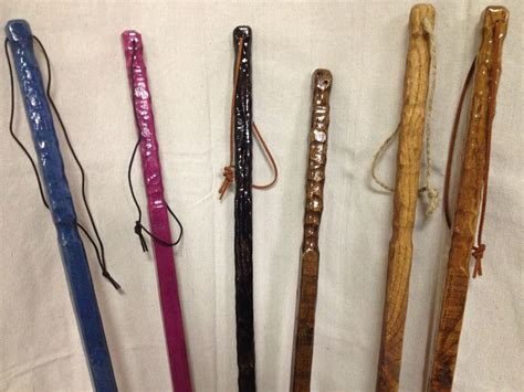 Handcrafted Walking Sticks - handmade square wooden rustic walking sticks by the rustic