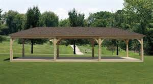 Backyard King Wood Pavilion Wood Pavilion Gazebo Depot