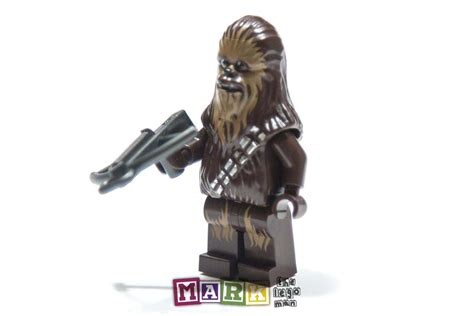 new lego wars chewbacca minifig minifigure mad