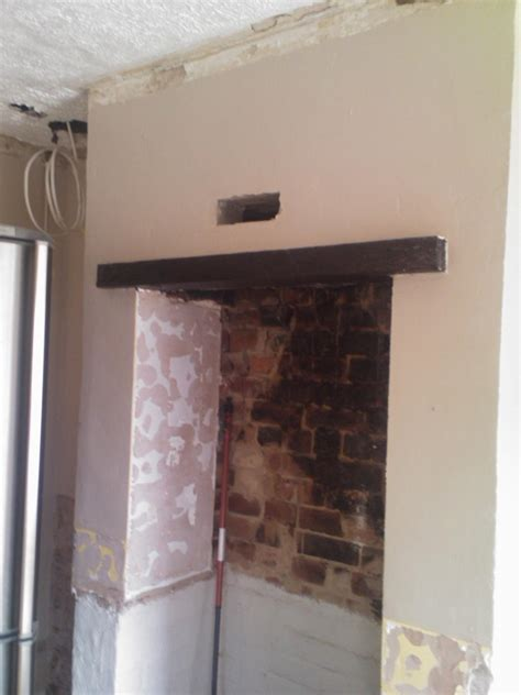 Wooden Lintel Fireplace by Replace Wood Lintel With Concrete 1 Chimneys Fireplaces In Derby Derbyshire Mybuilder