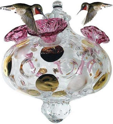 hummingbird feeders on sales bird brain crystal czech