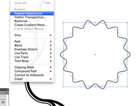 illustrator draw zigzag circle outline in photoshop images