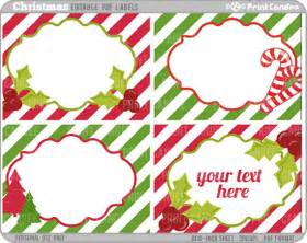 search results for free printable editable christmas tags