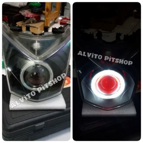 Lu Projector Motor Beat alvito pitshop lighting solution contoh projie