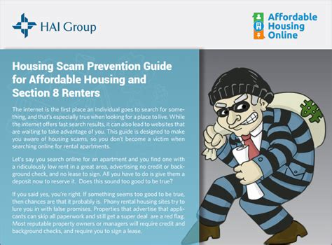 affordable housing online section 8 affordable housing and section 8 scam prevention guide