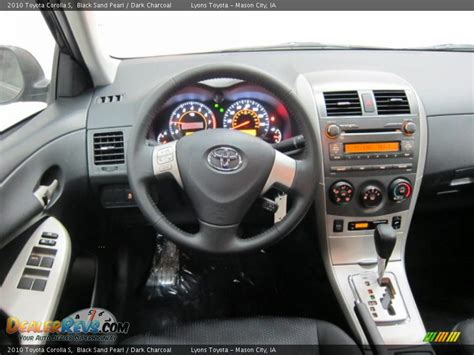 toyota corolla dashboard dashboard of 2010 toyota corolla s photo 6 dealerrevs