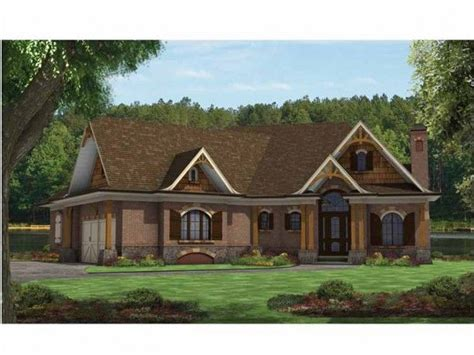 mountain craftsman house plan house plans