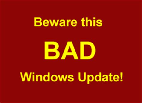 Jens Removal Day 7 Update by How To Use System Restore To Remove A Bad Windows Update