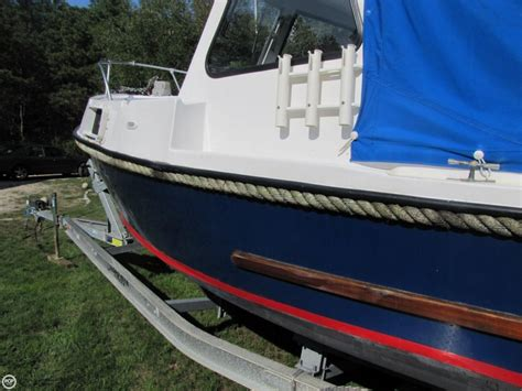 romany boats 1968 used romany 21 downeast fishing boat for sale
