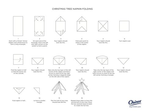 tree fold 62 best images about folded napkins on place