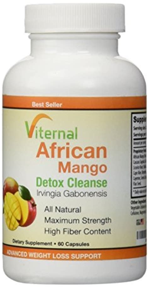 Detox Cleanse Center by Viternal S Irvingia Gabonensis Extract Detox Cleanse