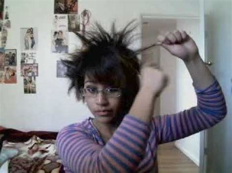 z haircut goku like hairstyle tutorial youtube