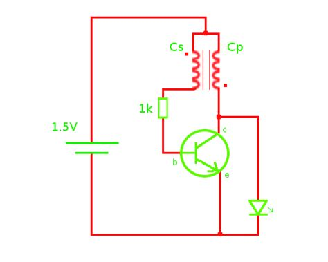 simple inductor joule thief the joule thief