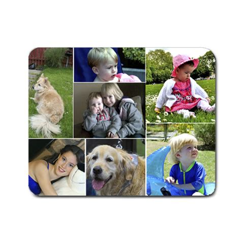 Photo Collage Mouse Mat photo collage mouse mats large small