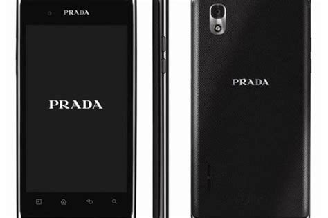 Lg Prada Phone by Lg Prada 3 0 Phone An Italian That S High On Style