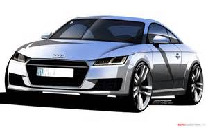 all new audi tt officially revealed autoconception