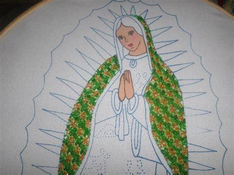 Imagenes De La Virgen Maria Para Bordar | bordado fantas 237 a manto virgen guadalupe youtube