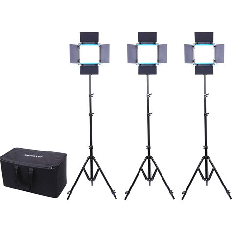 dracast led500 s series bi color led 3 light kit dracast led500 s series bi color 3 light kit drsp lk 3x500 b s