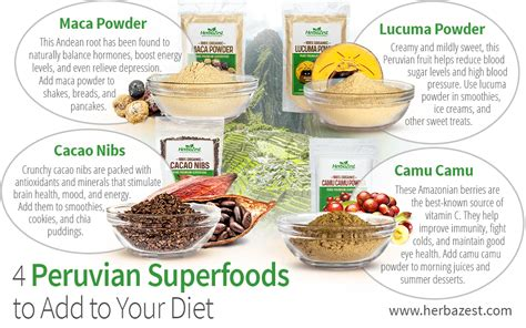 Superfoods To Add To Your Diet 4 peruvian superfoods to add to your diet herbazest