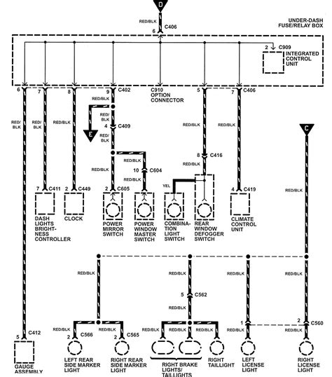 1991 honda nsx jdm wiring diagrams repair wiring scheme