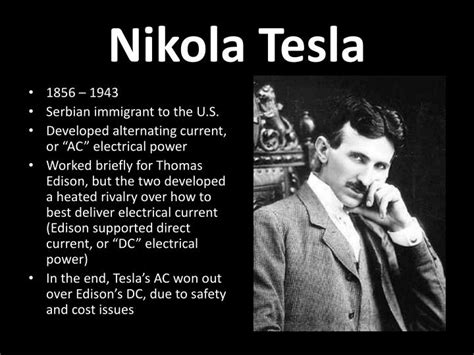 Nikola Tesla Powerpoint Ppt The Age Of Invention Powerpoint Presentation Id