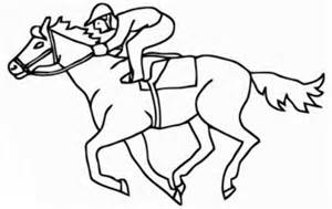 Kentucky Derby Coloring Pages Coloring Pages