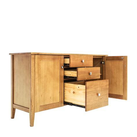 buffet table with drawers double star furniture stella 2 door 2 drawer buffet table