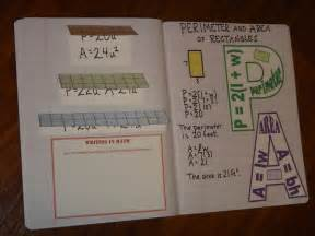 math interactive notebook templates lesson for of learning