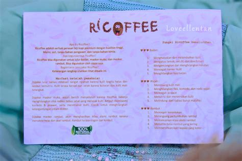ricoffee review lulur kopi alami sponsored