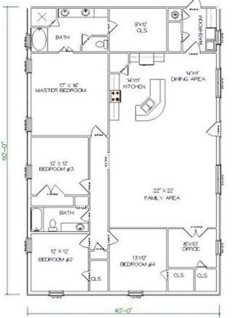 top 5 metal barndominium floor plans for your dream home top 20 metal barndominium floor plans for your home
