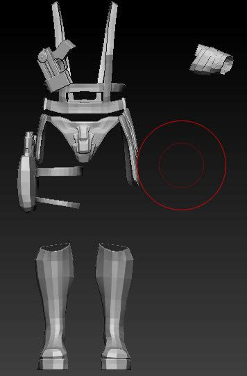 zbrush belt tutorial creating a warrior character part 4