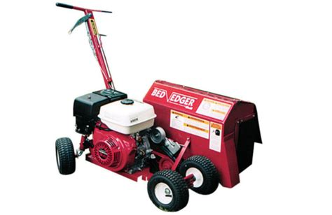brown bed edger aerator and edger ez rent it