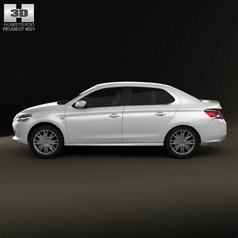 peugeot 2013 models peugeot 301 2013 3d model hum3d