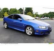 2004 Pontiac GTO Coupe In Impulse Blue Metallic Photo 7