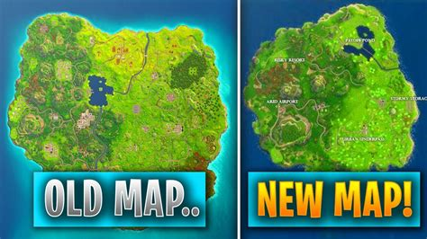fortnite original map fortnite map replaced with another new smaller map