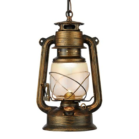 Lantern Pendant Lights Searchlight 3841 1bg Miners 1 Light Ceiling Lantern Black Gold