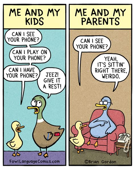 jokes for the modern age and then some books can i see your phone fowl language comics