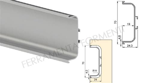 Recessed Kitchen Cabinets by Middle Recessed Handle Profile For Kitchen Cabinet