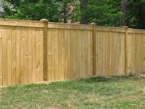 residential wood privacy fences knoxville maryville lenoir city