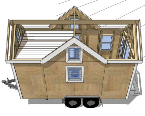 tiny homes on wheels plans free blueprints for small mobile homes and travel trailers