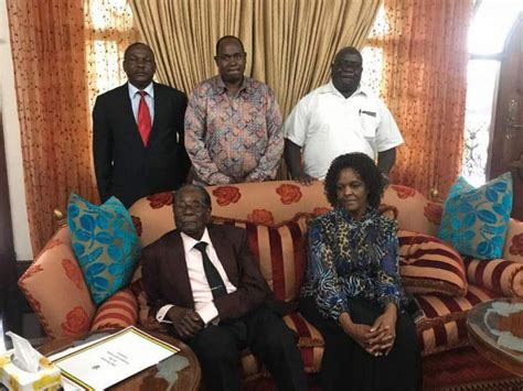 Resignation Letter Goes Viral Picture Of Mugabe After Resignation Goes Viral On Social Media