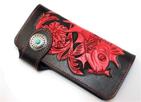 Handcrafted Leather Wallet - handcrafted leather wallet high end leather wallet bagswish