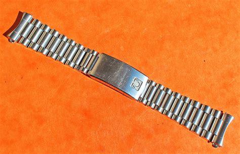 moon rubber st omega vintage speedmaster moonwatch bracelet acier