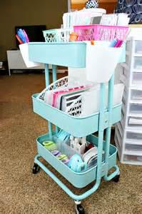 Kitchen Trolley Ideas my ikea raskog planner cart