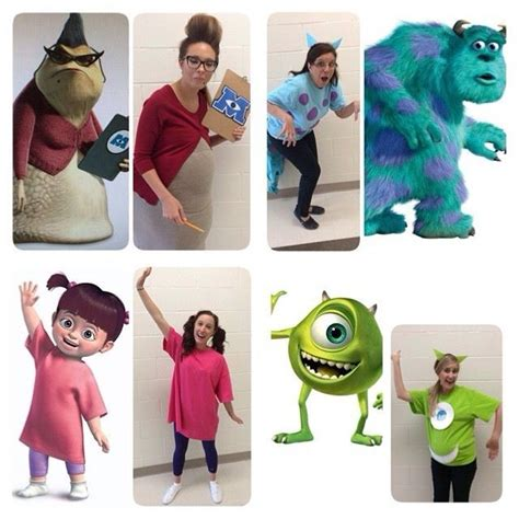 monsters  group costumes group halloweendisney