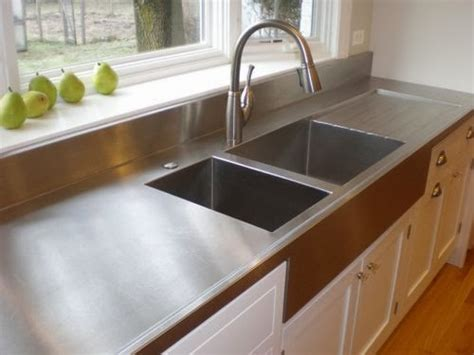 stainless steel kitchen countertop or sus backsplash