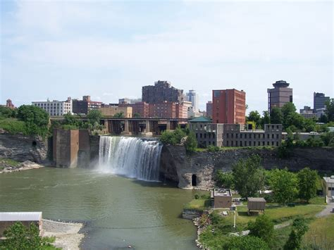rochester ny battle of the upstate wny skyline buffalo or rochester