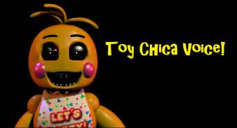 Fnaf 2 toy chica voice youtube