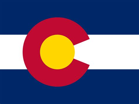 State Flag of Colorado, USA   American Images